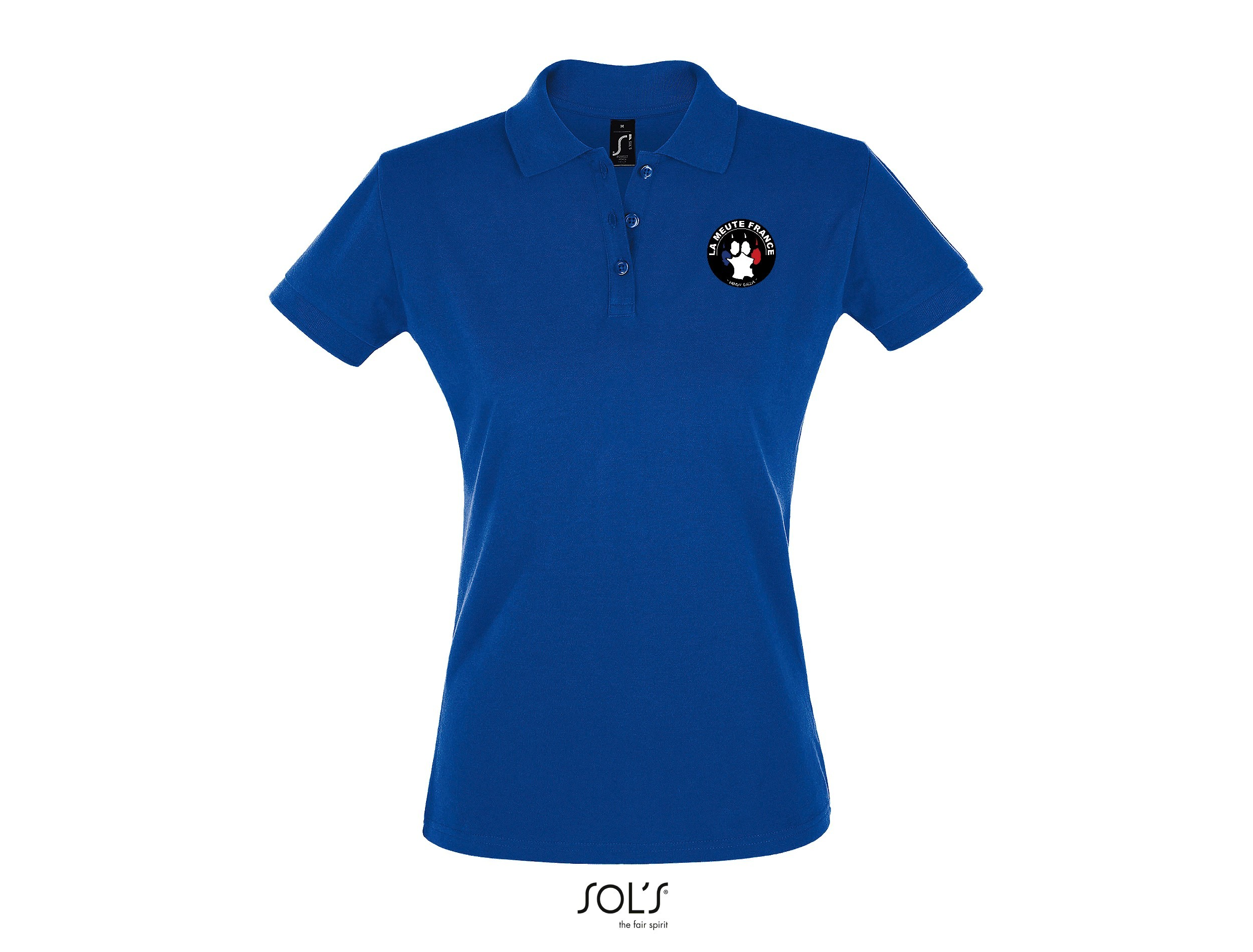 Polo Femme brodé made in France